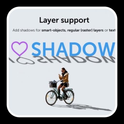 Shadow Plugin for Photoshop 1.0.3 破解版 – ps投影拖尾阴影插件