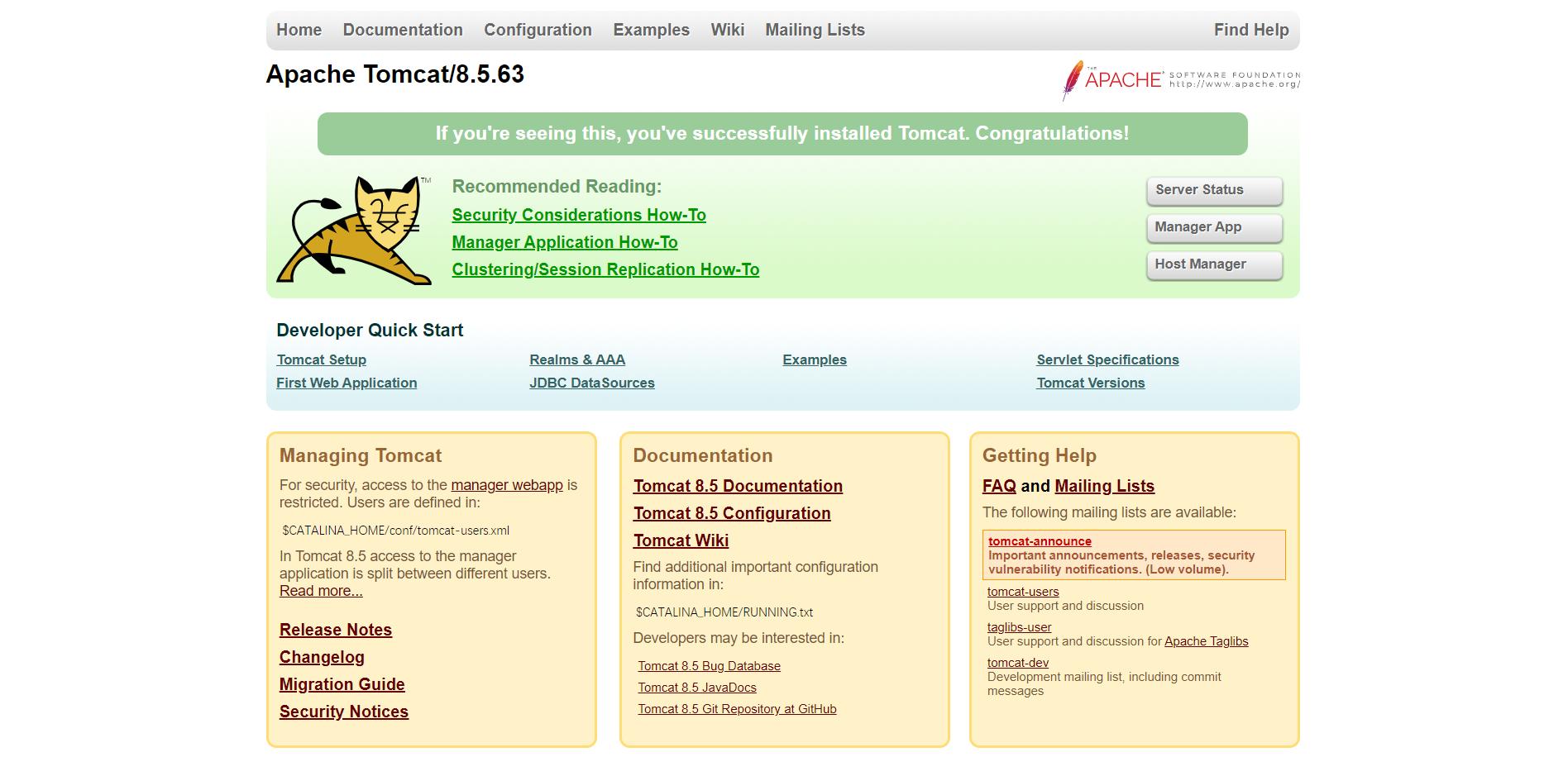 简单部署 Nginx + Tomcat 环境方法