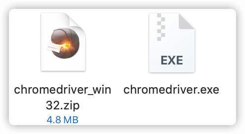 Windows ChromeDriver