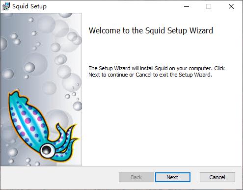 安装 Squid