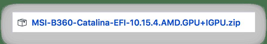 《macOS Catalina EFI OpenCore版本》