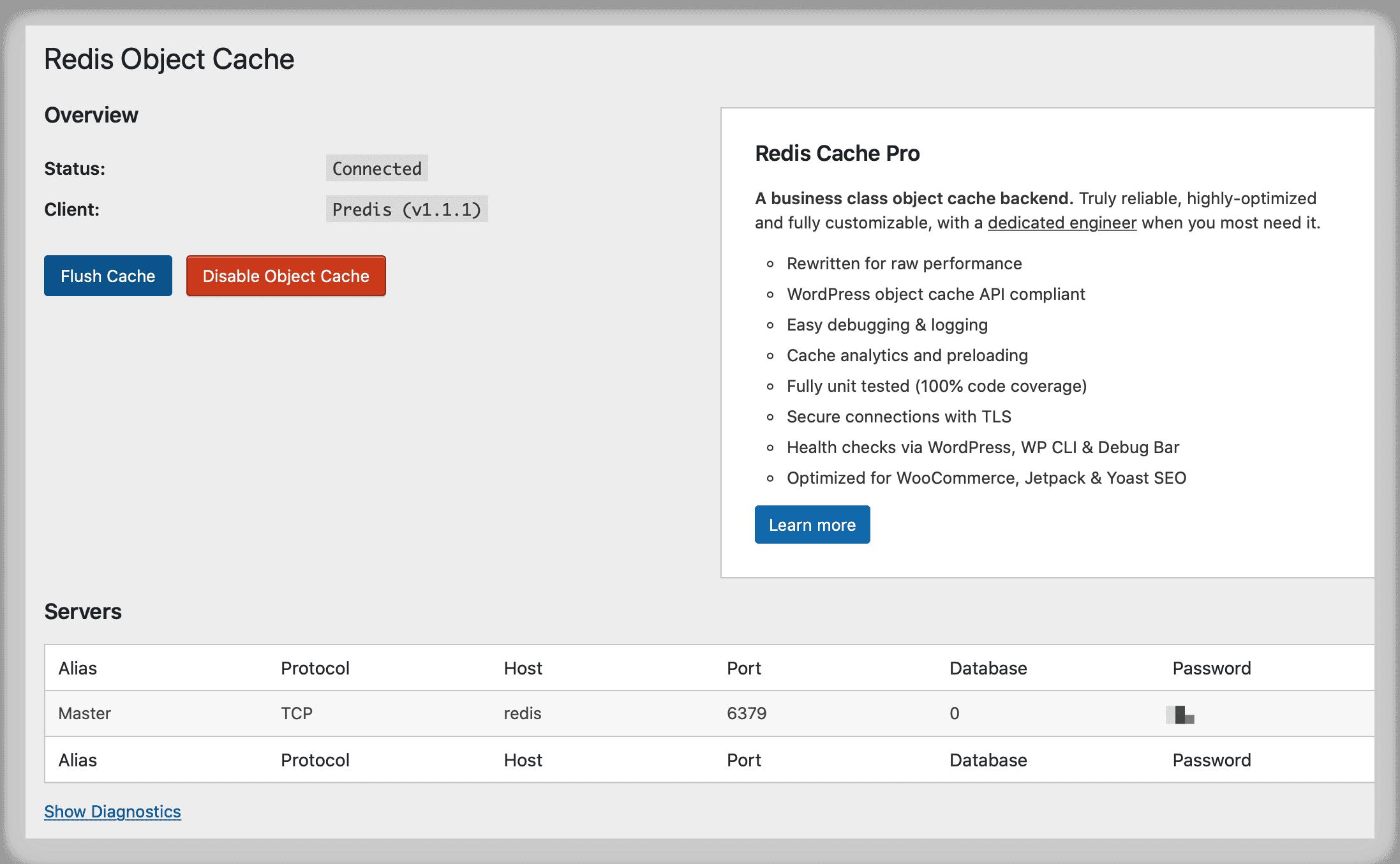 《Wordpress搭配Redis加速网站访问速度》