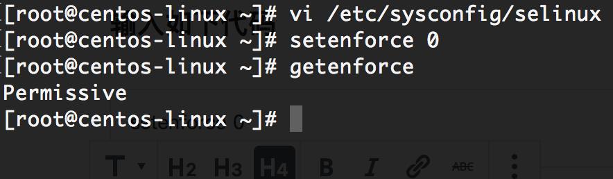 《Centos7关闭Selinux》