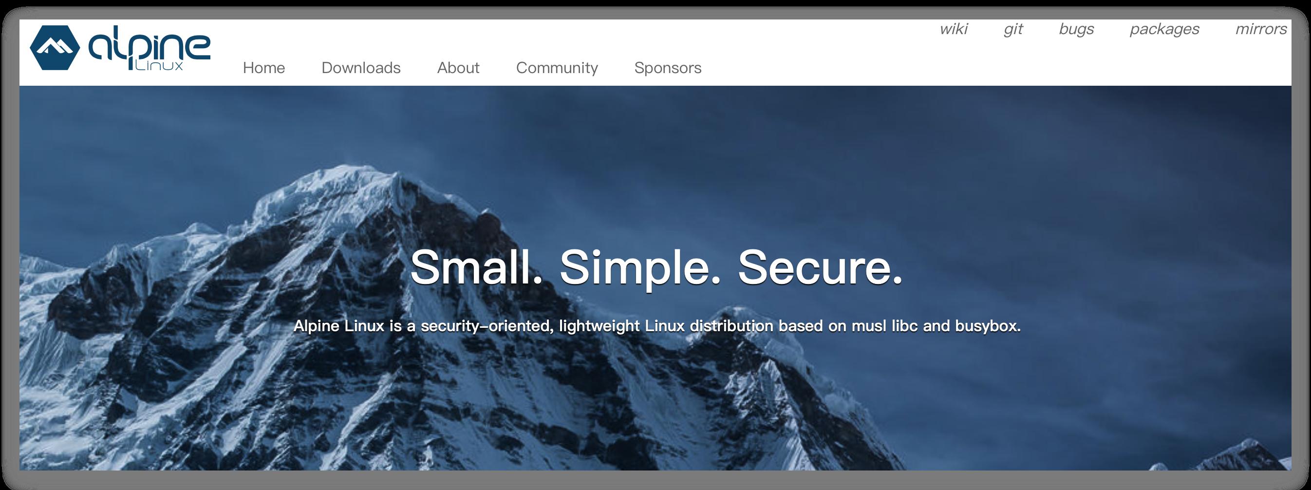 《Alpine下载软件时指定软件源》