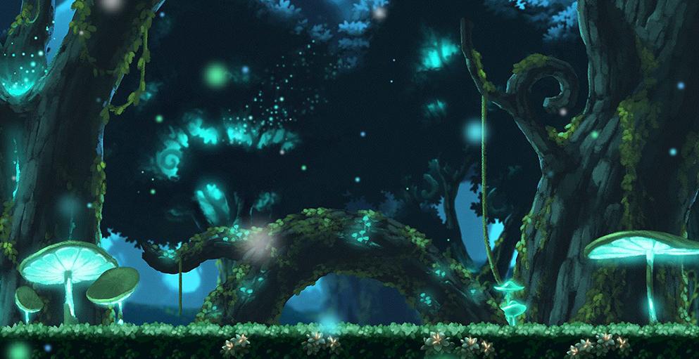 魔法森林深处