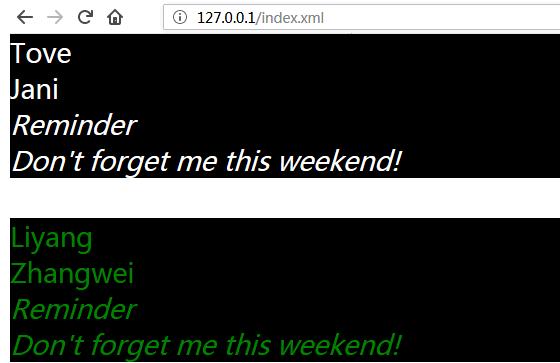 WeiyiGeek.CSS的XML