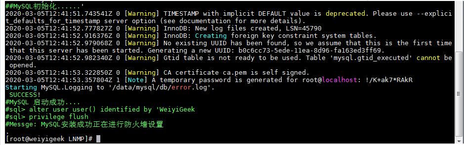 WeiyiGeek.PHP-fpm安装效果