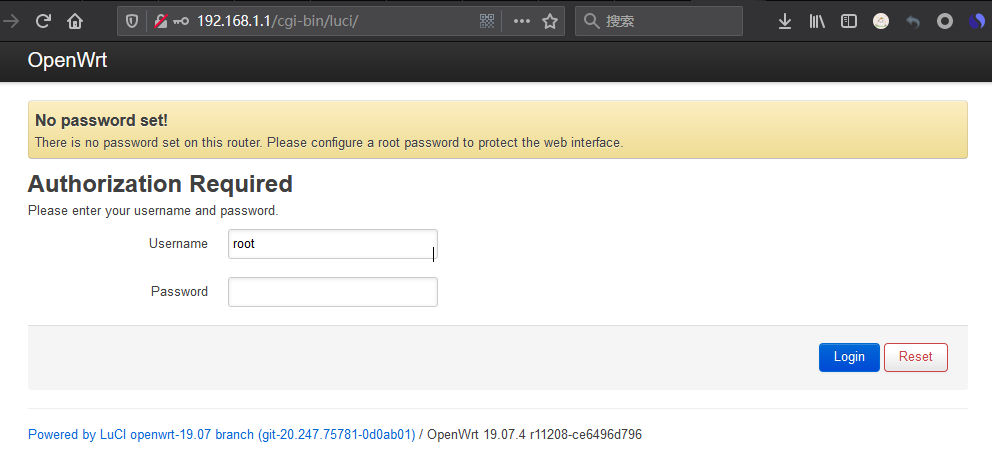 WeiyiGeek.OpenWrt管理界面