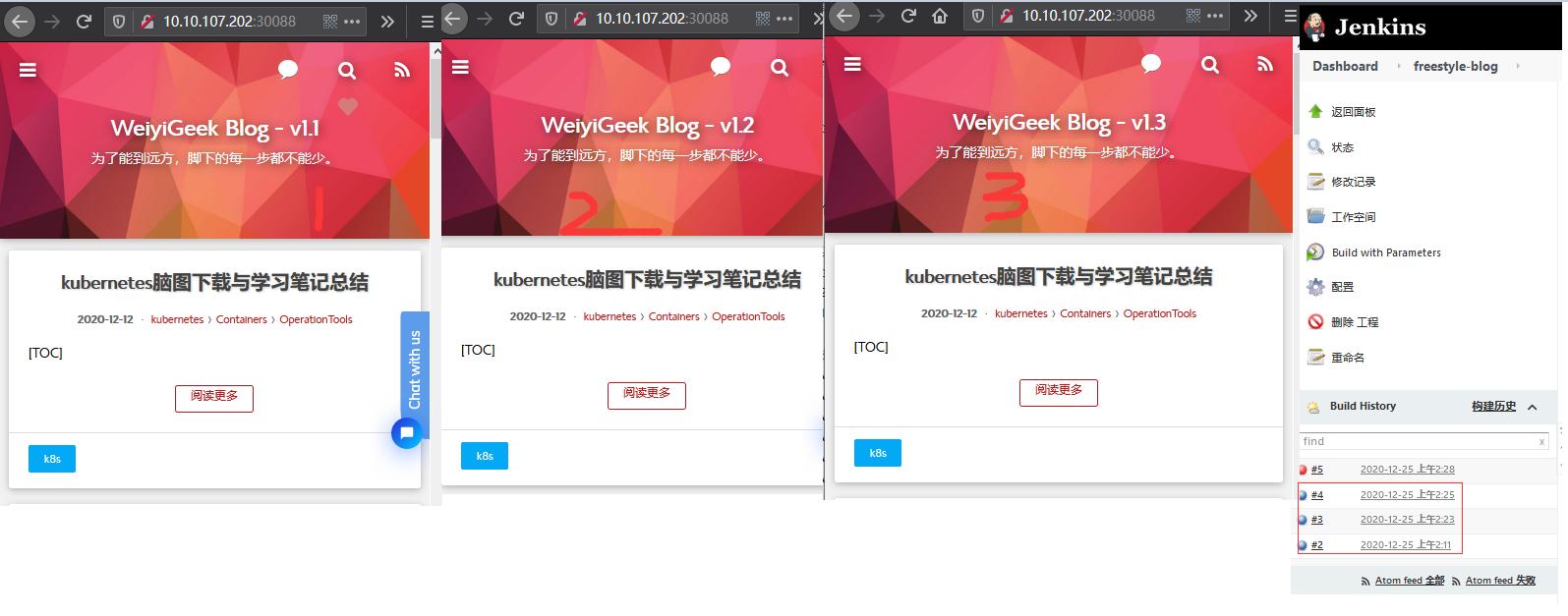 WeiyiGeek.项目构建部署验证