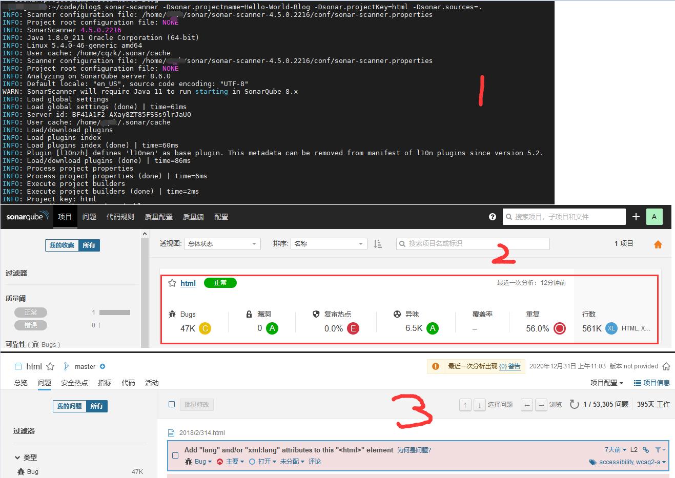 WeiyiGeek.代码质量检测结果