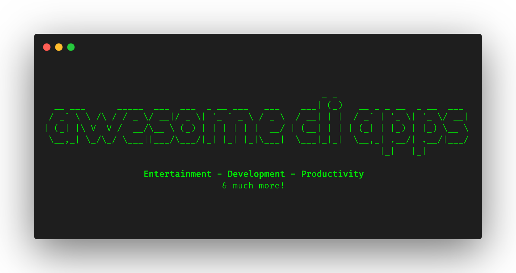awesome cli apps
