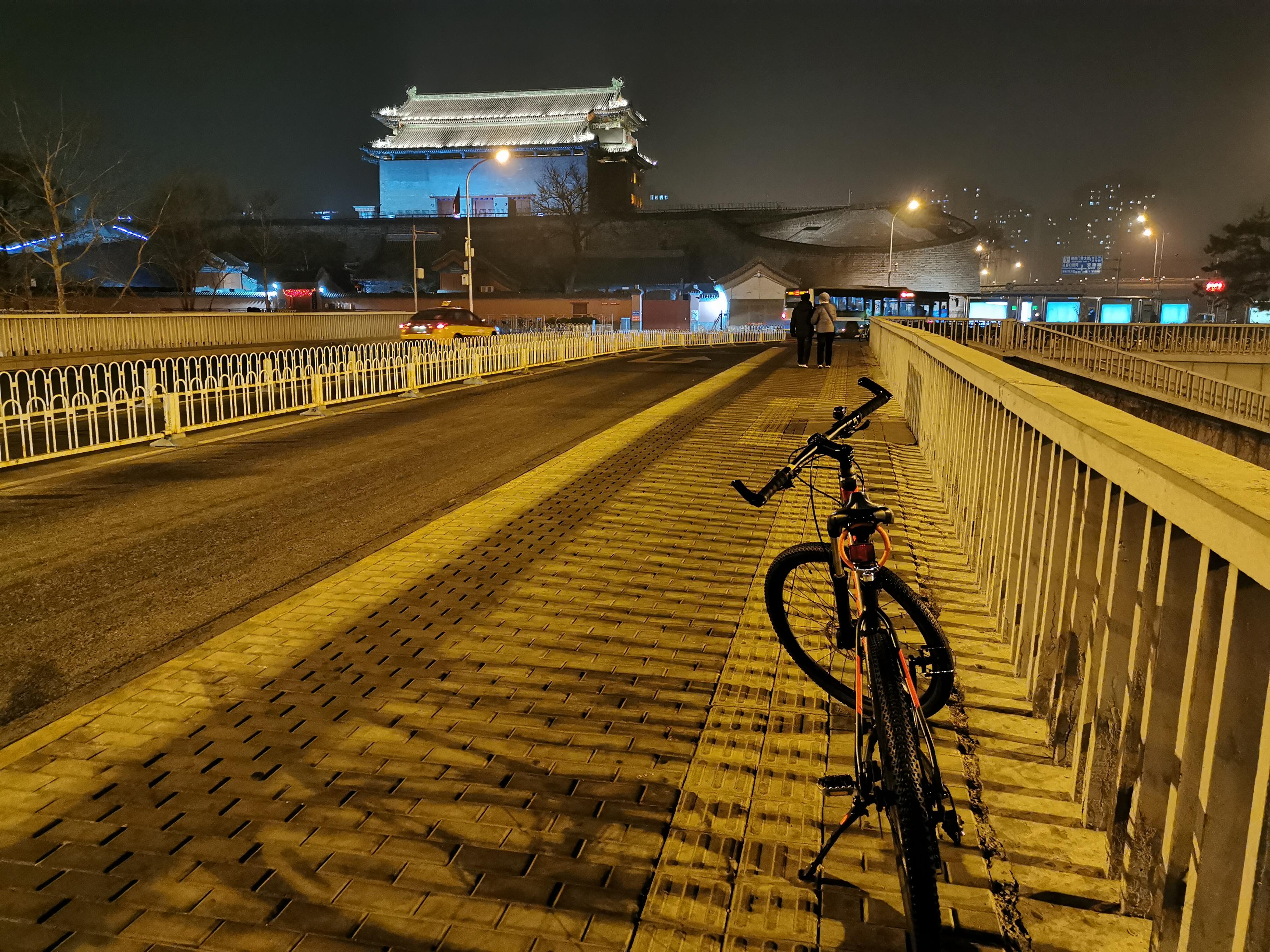 自行车与德胜门