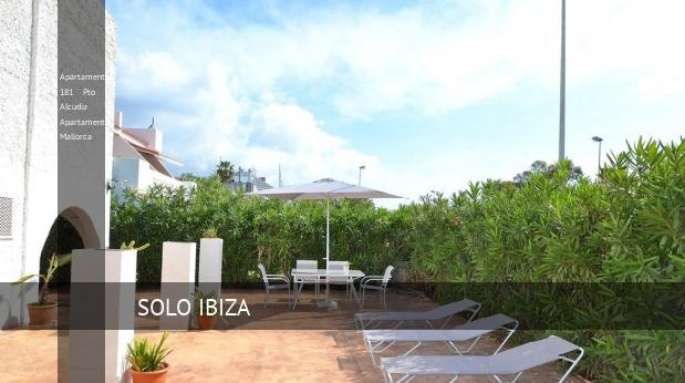 Apartamentos 181 Pto Alcudia Apartament Mallorca reverva