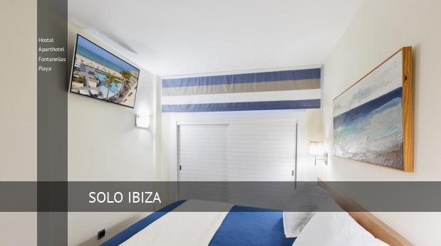 Hostal Aparthotel Fontanellas Playa opiniones