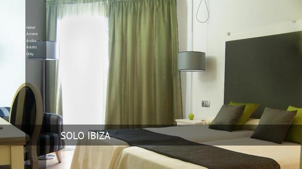 Hotel Artiem Audax - Solo Adultos reservas
