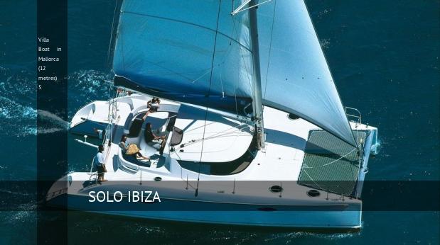 Villa Boat in Mallorca (12 metres) 5