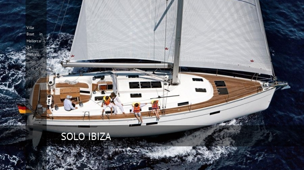 Villa Boat in Mallorca (14 metres)