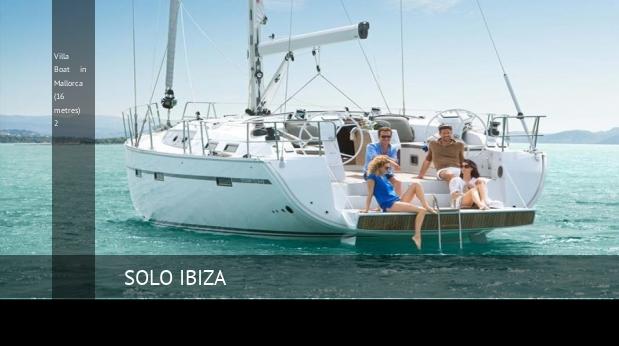 Villa Boat in Mallorca (16 metres) 2