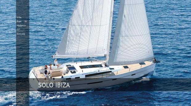 Villa Boat in Mallorca (17 metres)