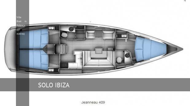 Villa Boat in Pollença (12 metres)