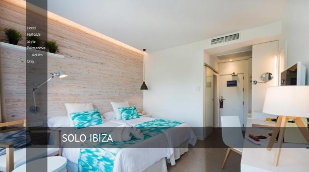 Hotel FERGUS Style Palmanova - Solo Adultos reservas