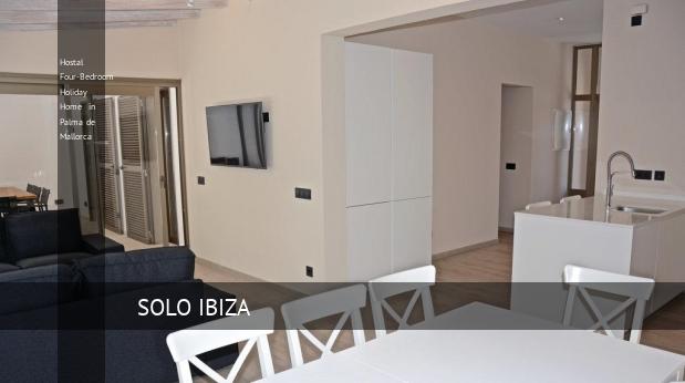 Hostal Four-Bedroom Holiday Home in Palma de Mallorca opiniones