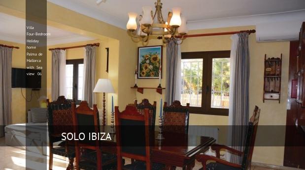 Villa Four-Bedroom Holiday home Palma de Mallorca with Sea view 06 booking