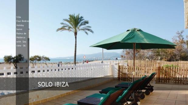 Villa Four-Bedroom Holiday home Palma de Mallorca with Sea view 06 opiniones