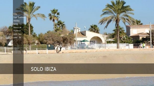 Villa Four-Bedroom Holiday home Palma de Mallorca with Sea view 06 reverva