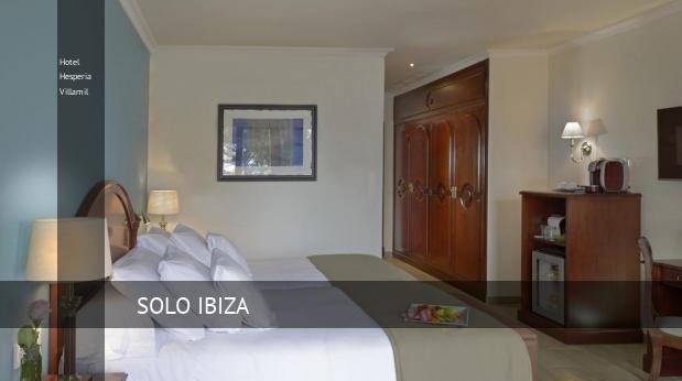 Hotel Hesperia Villamil booking