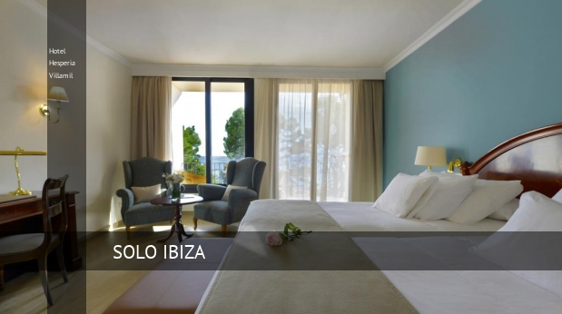 Hotel Hesperia Villamil reservas