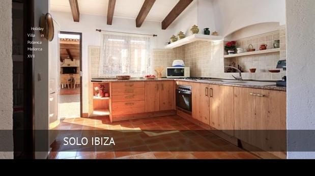 Holiday Villa in Pollenca Mallorca XVII booking