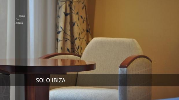 Hotel Don Antonio oferta