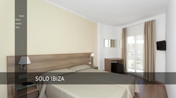 Hotel Playa Solo Adultos opiniones