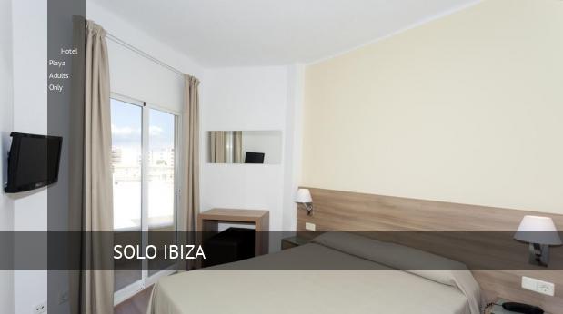 Hotel Playa Solo Adultos reservas