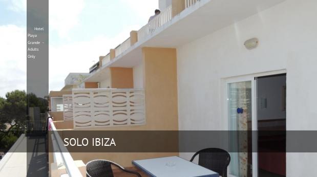 Hotel Playa Grande - Solo Adultos baratos