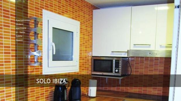 Apartamentos Modern apartment in Santa Eulalia Square booking