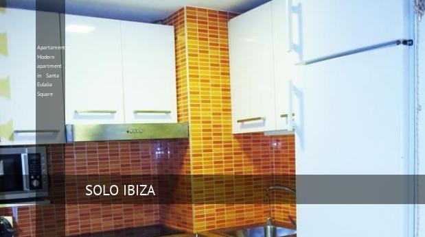 Apartamentos Modern apartment in Santa Eulalia Square opiniones