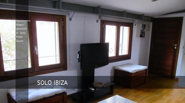 Apartamentos Modern apartment in Santa Eulalia Square reverva