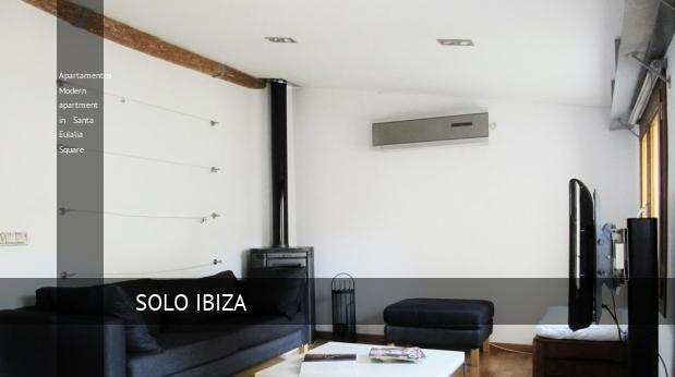 Modern apartment in Santa Eulalia Square
