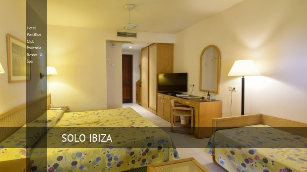 Hotel PortBlue Club Pollentia Resort & Spa dormitorio