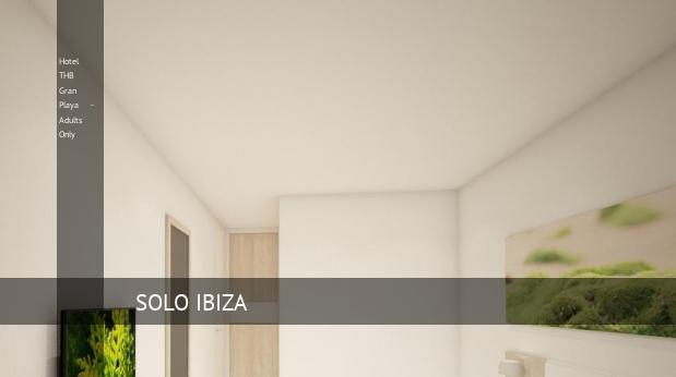 Hotel THB Gran Playa - Solo Adultos barato