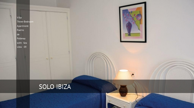 Villa Three-Bedroom Apartment Puerto de Pollensa with Sea view 09 booking