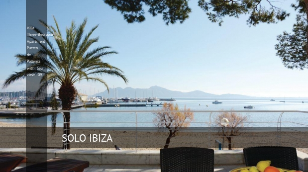 Three-Bedroom Apartment Puerto de Pollensa with Sea view 09