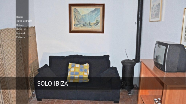 Hostal Three-Bedroom Holiday Home in Palma de Mallorca opiniones