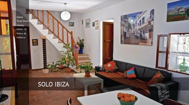 Hostal Three-Bedroom Holiday Home in Palma de Mallorca reverva