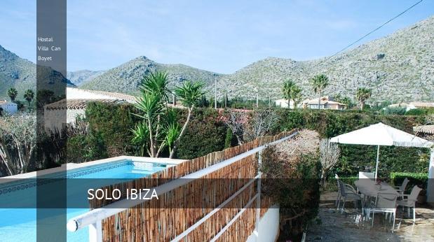 Hostal Villa Can Boyet reverva