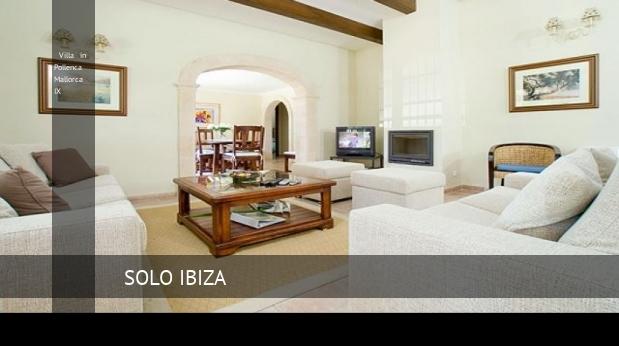 Villa in Pollenca Mallorca IX booking