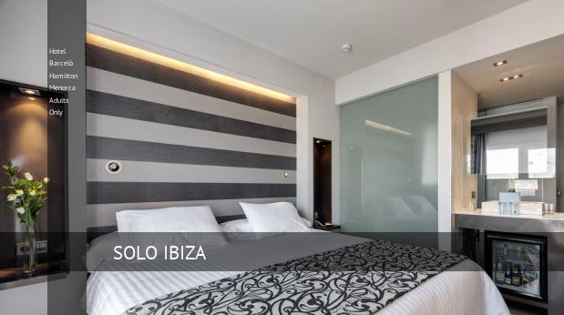 Hotel Barceló Hamilton Menorca Solo Adultos reservas