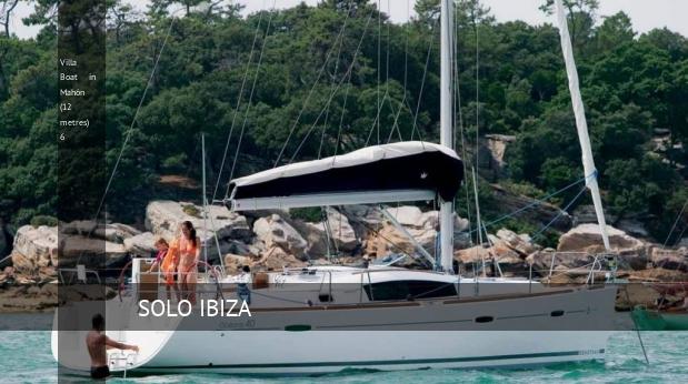 Villa Boat in Mahón (12 metres) 6